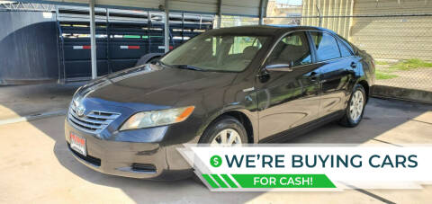 2007 Toyota Camry Hybrid for sale at Schaefers Auto Sales in Victoria TX