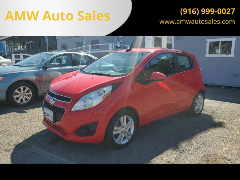 2015 Chevrolet Spark for sale at AMW Auto Sales in Sacramento CA