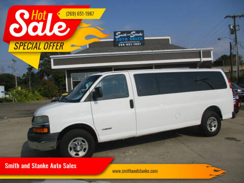 2006 Chevrolet Express Passenger for sale at Smith and Stanke Auto Sales in Sturgis MI