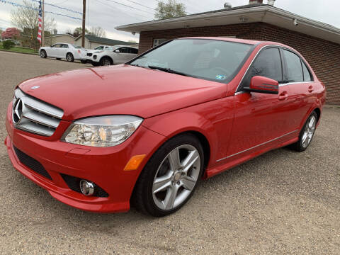 2010 Mercedes-Benz C-Class for sale at MYERS PRE OWNED AUTOS & POWERSPORTS in Paden City WV
