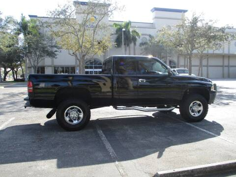 1999 Dodge Ram Pickup 2500 for sale at BIG BOY DIESELS in Ft Lauderdale FL