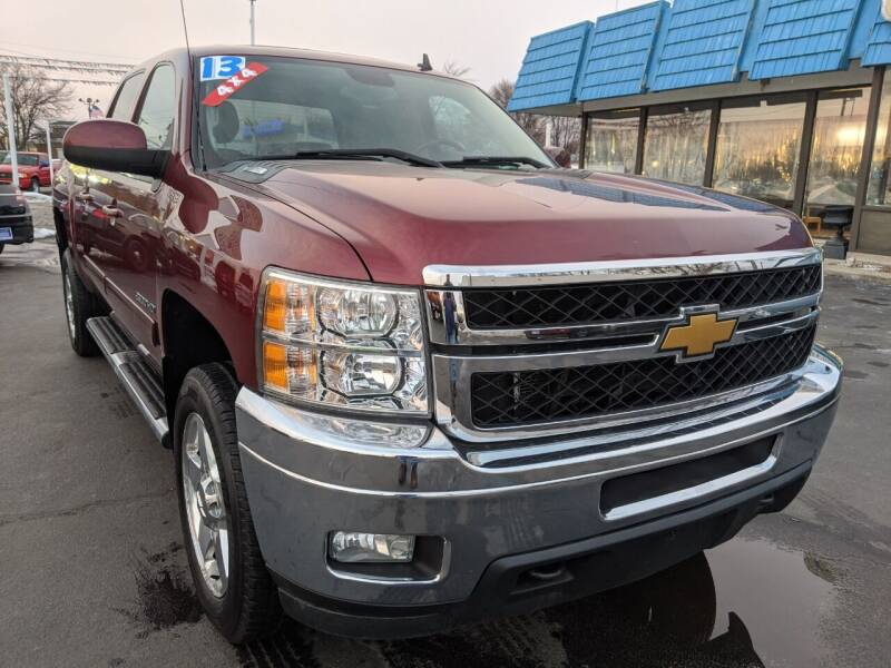 2013 Chevrolet Silverado 2500HD for sale at GREAT DEALS ON WHEELS in Michigan City IN