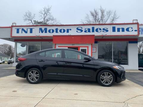 2018 Hyundai Elantra for sale at TNT Motor Sales in Oregon IL