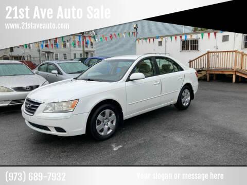2009 Hyundai Sonata for sale at 21st Ave Auto Sale in Paterson NJ