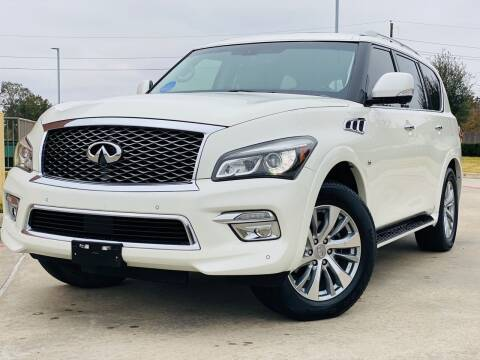 2015 Infiniti QX80 for sale at AUTO DIRECT in Houston TX