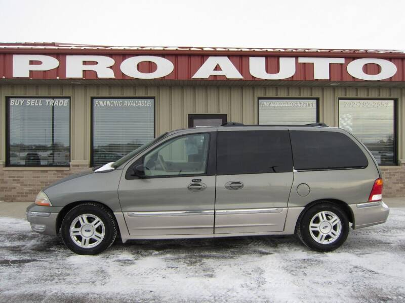 2002 Ford Windstar for sale at Pro Auto Sales in Carroll IA