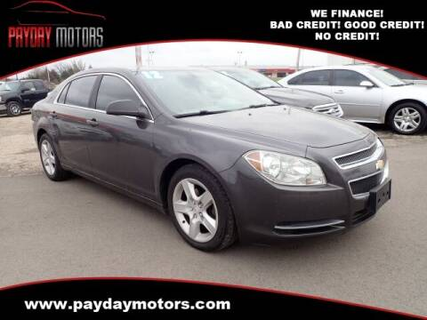2012 Chevrolet Malibu for sale at Payday Motors in Wichita And Topeka KS