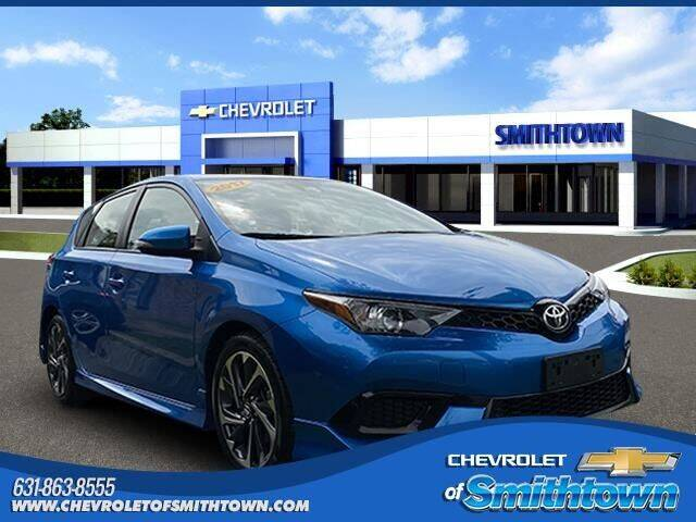 2017 Toyota Corolla iM for sale at CHEVROLET OF SMITHTOWN in Saint James NY