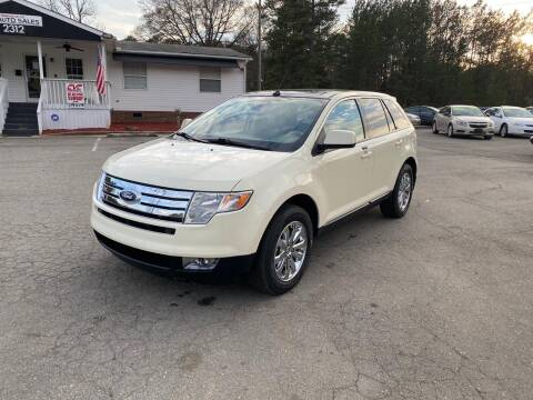 2007 Ford Edge for sale at CVC AUTO SALES in Durham NC