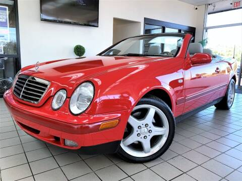 1999 Mercedes-Benz CLK for sale at SAINT CHARLES MOTORCARS in Saint Charles IL