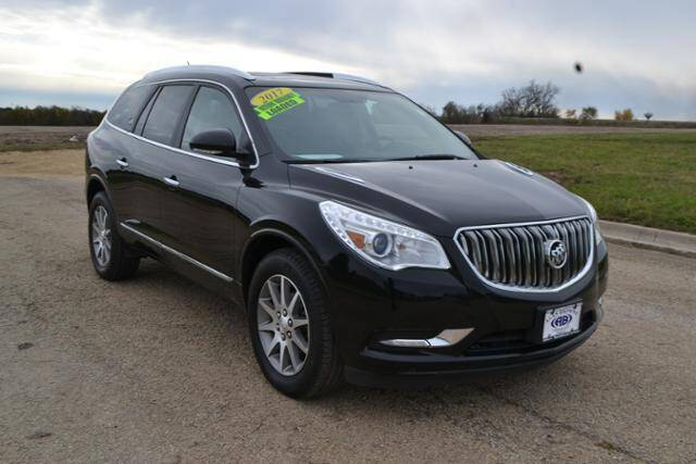 2017 Buick Enclave for sale at Alan Browne Chevy in Genoa IL