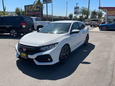 2017 Honda Civic for sale at Mac Auto Inc in La Habra CA