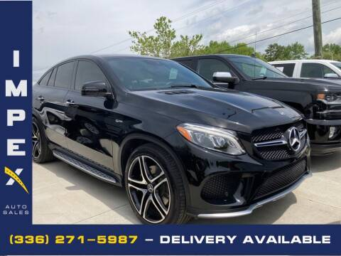 2018 Mercedes-Benz GLE for sale at Impex Auto Sales in Greensboro NC
