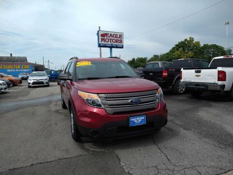 2013 Ford Explorer for sale at Eagle Motors in Hamilton OH