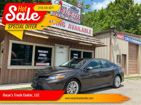 2018 Toyota Camry for sale at Oscar's Truck Center, LLC in Houston TX