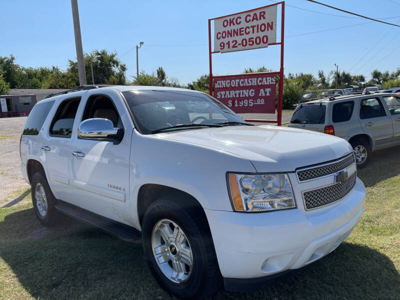 2007 Chevrolet Tahoe for sale at OKC CAR CONNECTION in Oklahoma City OK