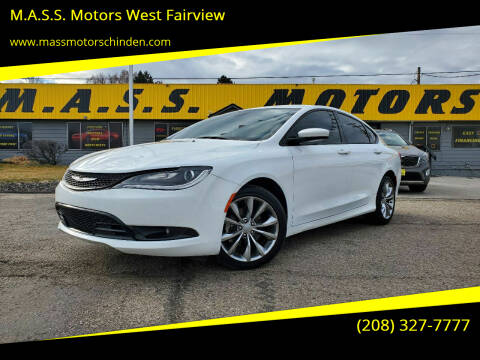 2016 Chrysler 200 for sale at M.A.S.S. Motors - West Fairview in Boise ID