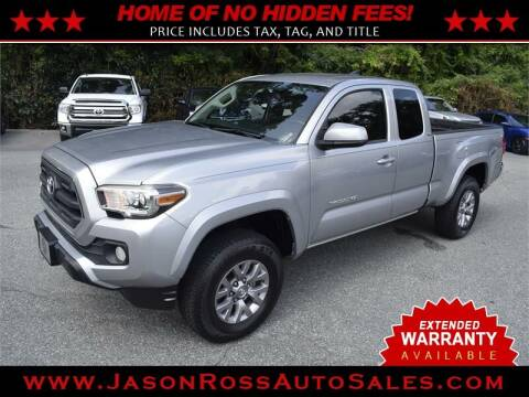 2016 Toyota Tacoma for sale at Jason Ross Auto Sales in Burlington NC