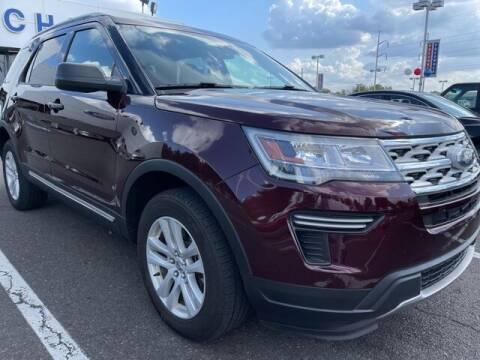 2019 Ford Explorer for sale at CHAPMAN FORD NORTHEAST PHILADELPHIA in Philadelphia PA