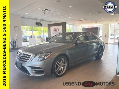 2018 Mercedes-Benz S-Class for sale at Legend Motors of Waterford in Waterford MI