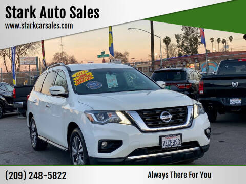 2017 Nissan Pathfinder for sale at Stark Auto Sales in Modesto CA