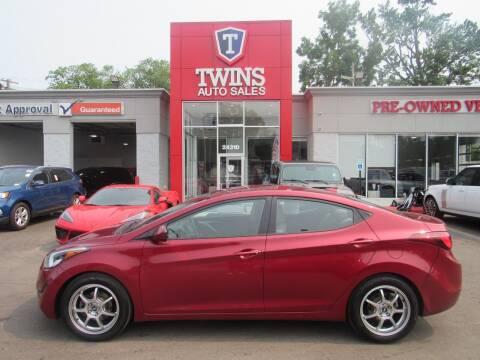 2016 Hyundai Elantra for sale at Twins Auto Sales Inc in Detroit MI