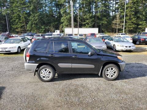 2003 Toyota RAV4 for sale at WILSON MOTORS in Spanaway WA