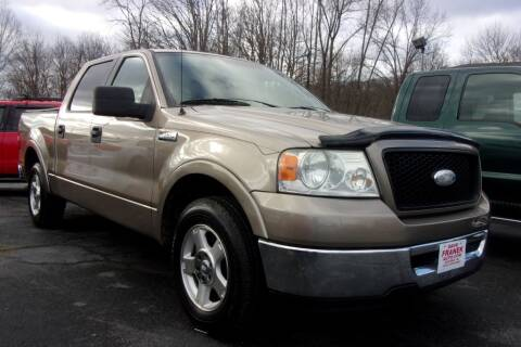 2006 Ford F-150 for sale at Dave Franek Automotive in Wantage NJ