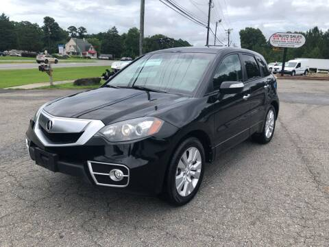 2011 Acura RDX for sale at CVC AUTO SALES in Durham NC