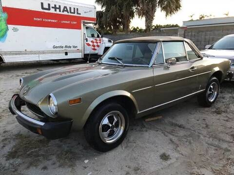 1976 FIAT 124 Spider for sale at Island Motor Cars in Nesconset NY