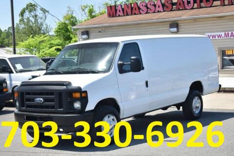 2013 Ford E-Series Cargo for sale at MANASSAS AUTO TRUCK in Manassas VA