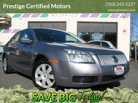 2007 Mercury Milan for sale at Prestige Certified Motors in Falls Church VA