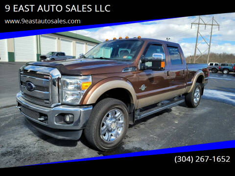 2012 Ford F-350 Super Duty for sale at 9 EAST AUTO SALES LLC in Martinsburg WV