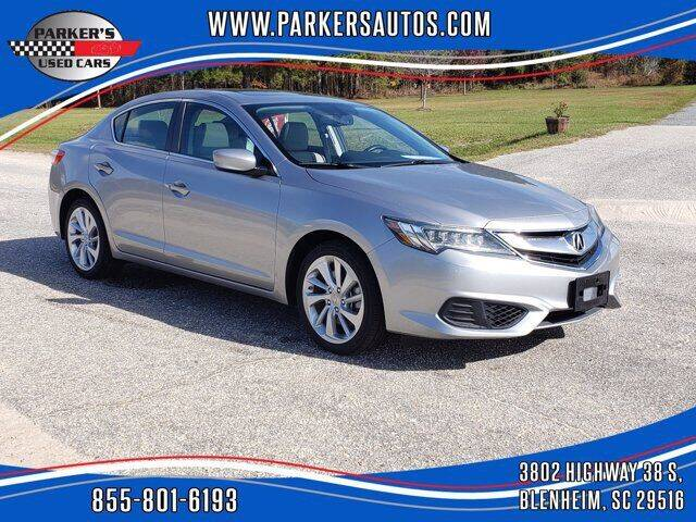 2017 Acura ILX for sale at Parker's Used Cars in Blenheim SC