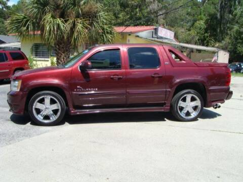 2008 Chevrolet Avalanche for sale at VANS CARS AND TRUCKS in Brooksville FL