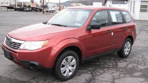 2010 Subaru Forester for sale at SHIRN'S in Williamsport PA
