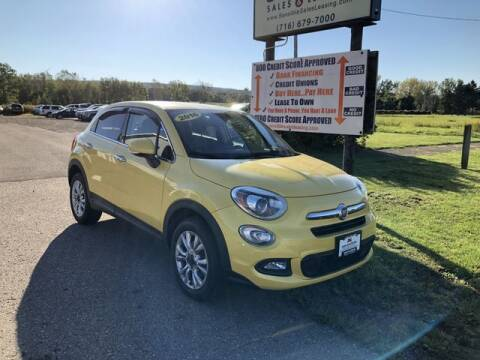 2016 FIAT 500X for sale at Sensible Sales & Leasing in Fredonia NY