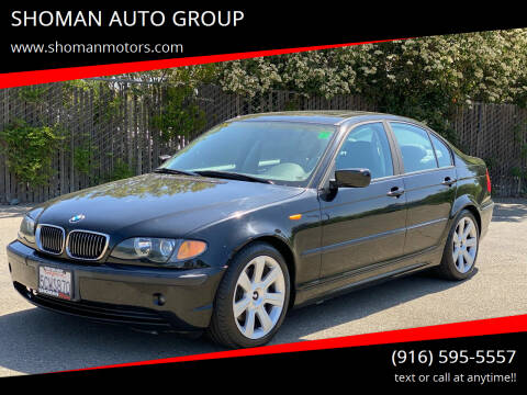 2002 BMW 3 Series for sale at SHOMAN AUTO GROUP in Davis CA