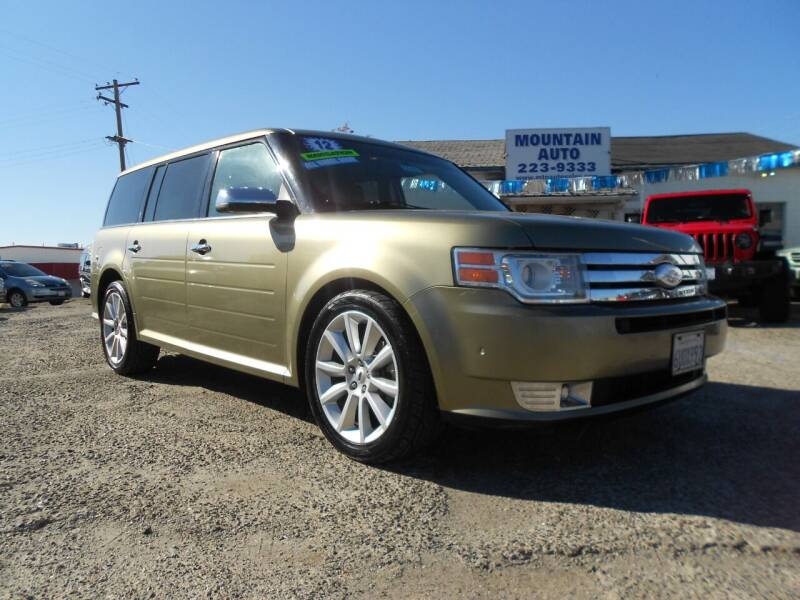 2012 Ford Flex for sale at Mountain Auto in Jackson CA