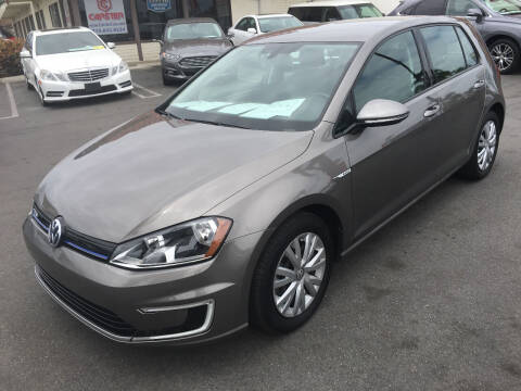 2015 Volkswagen e-Golf for sale at CARSTER in Huntington Beach CA