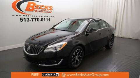 2017 Buick Regal for sale at Becks Auto Group in Mason OH