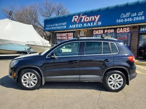 2010 Volkswagen Tiguan for sale at R Tony Auto Sales in Clinton Township MI