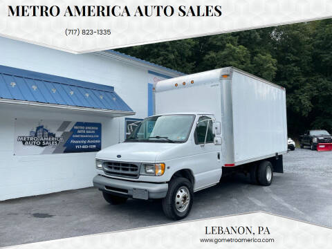 2000 Ford E-Series Chassis for sale at METRO AMERICA AUTO SALES of Lebanon in Lebanon PA