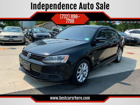 2012 Volkswagen Jetta for sale at Independence Auto Sale in Bordentown NJ