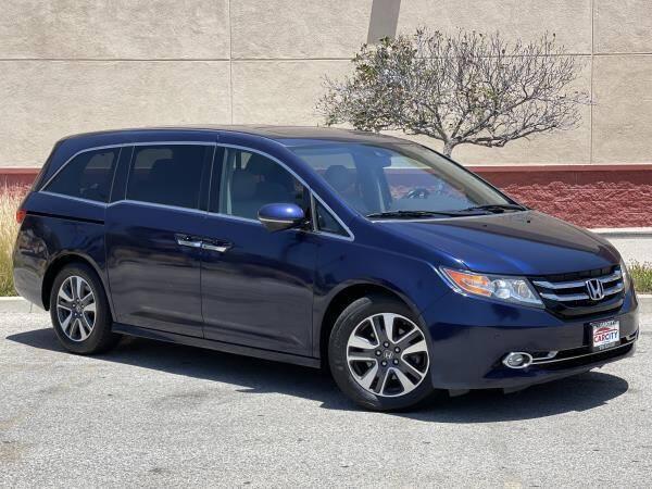 2015 Honda Odyssey for sale at CAR CITY SALES in La Crescenta CA
