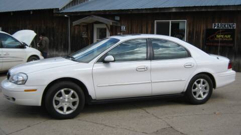 2000 Mercury Sable for sale at Spear Auto Sales in Wadena MN