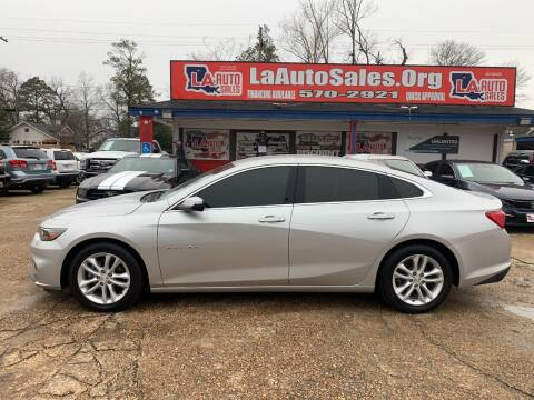 2017 Chevrolet Malibu for sale at LA Auto Sales in Monroe LA