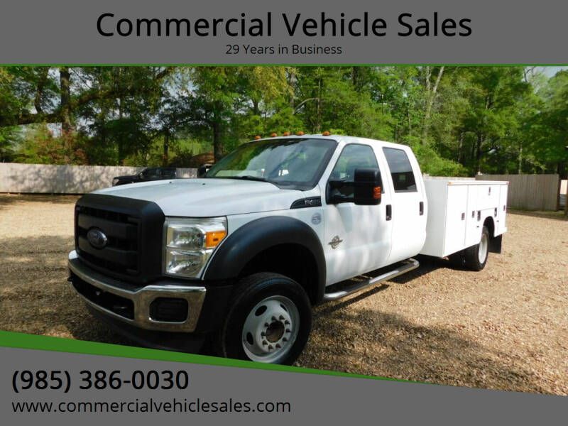 2012 Ford F-450 Super Duty for sale at Commercial Vehicle Sales in Ponchatoula LA