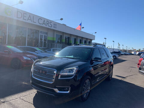 2013 GMC Acadia for sale at Ideal Cars Broadway in Mesa AZ