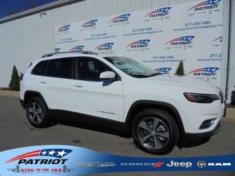 2020 Jeep Cherokee for sale at PATRIOT CHRYSLER DODGE JEEP RAM in Oakland MD